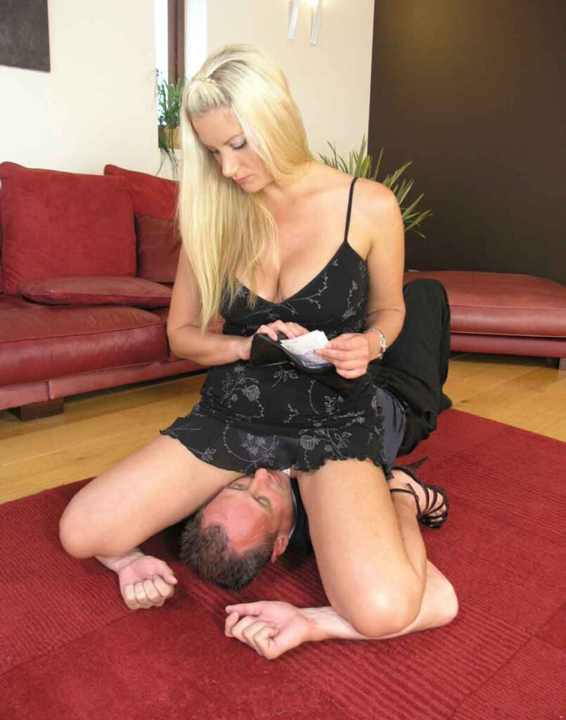 a brat princess mistress holding down a sub