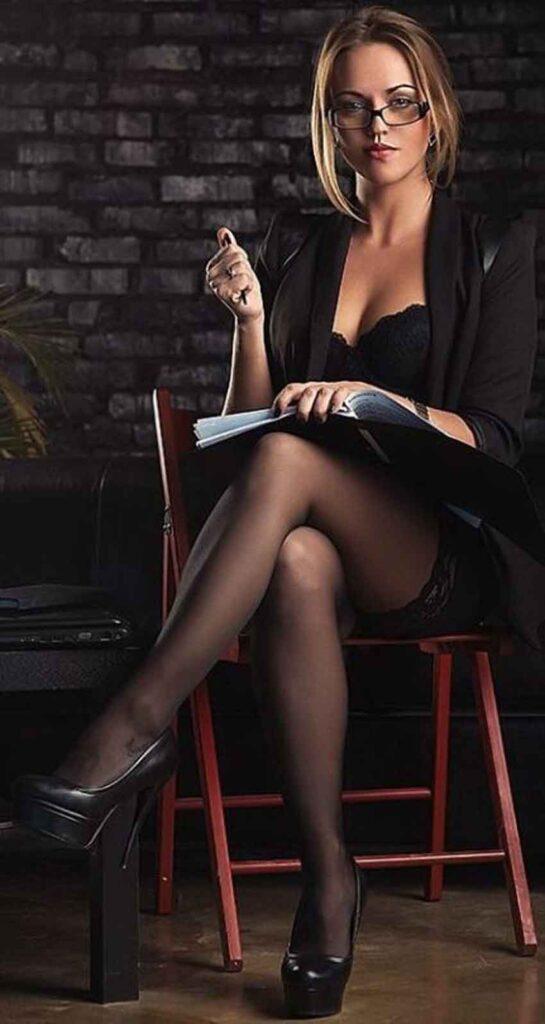 a mistress reads a book