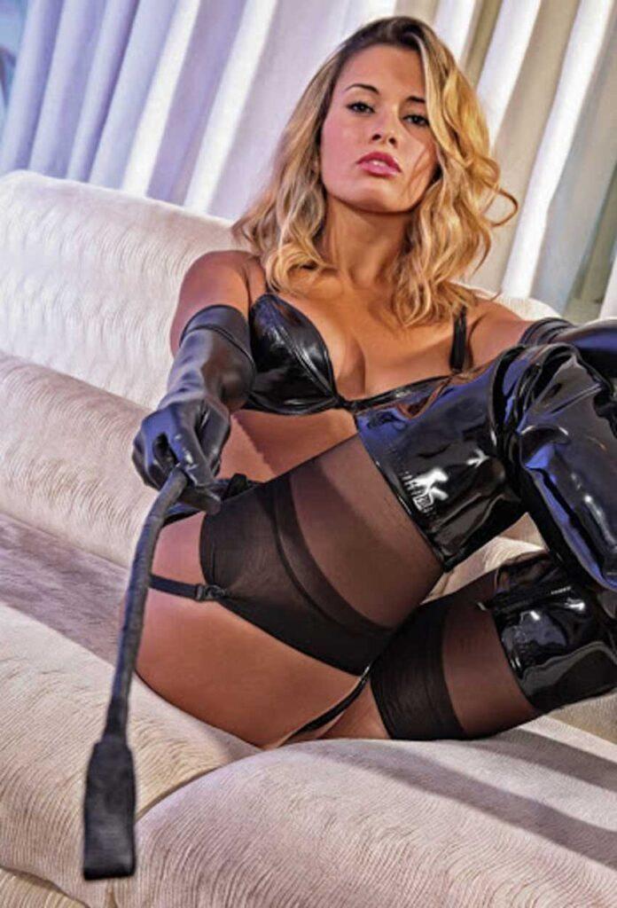 a mistress talking