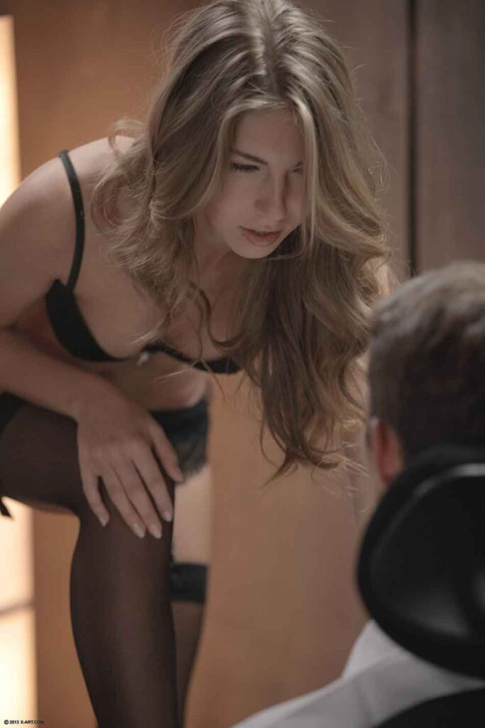a mistress looking over her sub